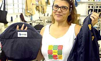 Reciclagem de Uniformes gera renda