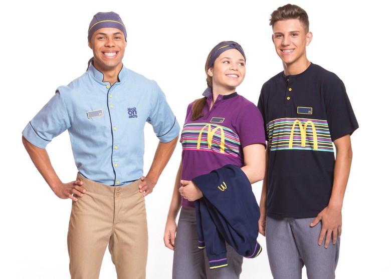 mac donalds adotará novos uniformes personalizados à partir de setembro/2017